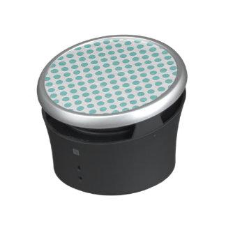 Aqua Polka Dots Speaker