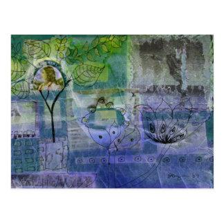 Aqua Postcard