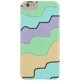 Aqua, Purple and Coral Modern Abstract Phone Case