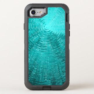 Aqua Ripples OtterBox Defender iPhone 8/7 Case