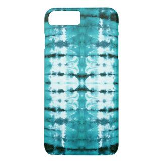 Aqua Satin Shibori iPhone 8 Plus/7 Plus Case