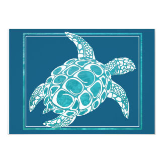 Aqua Sea Turtle Invite 2
