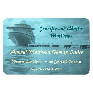 Aqua Ship Stateroom Door Marker Magnet