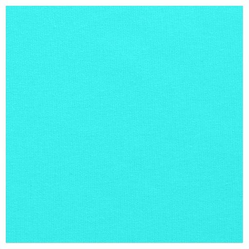 Aqua Solid Colour Fabric