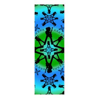 Aqua Solstice - Skinny Card Business Card