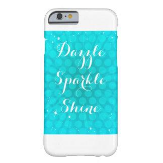 Aqua Sparkle Phone Case