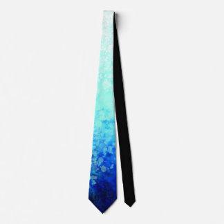 Aqua Spots - Neck Tie