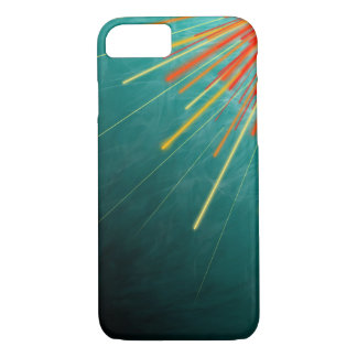Aqua Starburst - Apple iPhone 8/7 Case