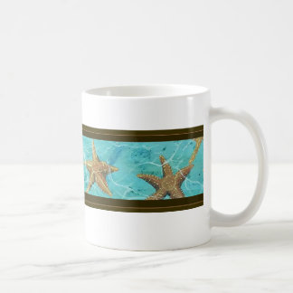 Aqua Starfish Mug For The Coffee Cup Lover If you