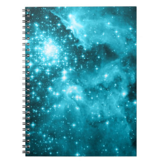 Aqua Stars Notebook