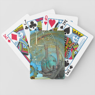 Aqua Steam Snail Traveler Bicycle Playing Cards