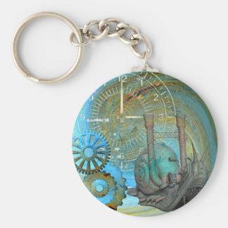 Aqua Steam Snail Traveler Key Ring