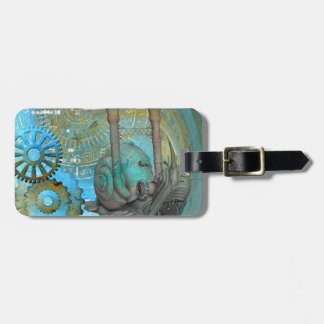 Aqua Steam Snail Traveler Luggage Tag