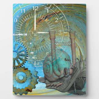 Aqua Steam Snail Traveler Plaque
