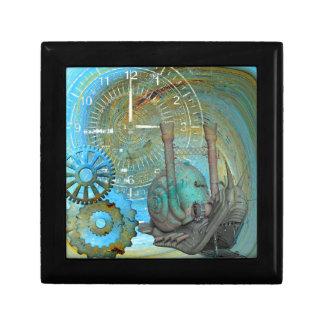 Aqua Steam Snail Traveler Small Square Gift Box