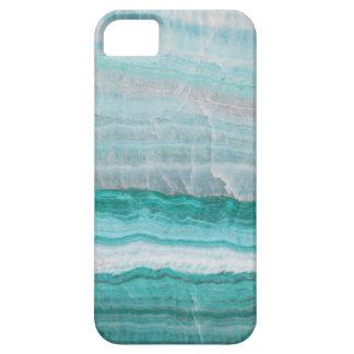 Aqua Striped Quartz Crystal Case For The iPhone 5