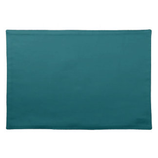 Aqua Teal Background on a Placemat