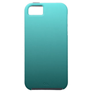Aqua Teal Gradient iPhone 5 Cover