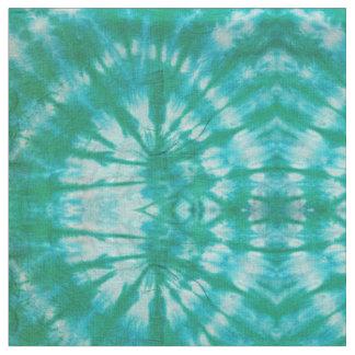 Aqua Tie-Dye Fabric