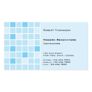 Aqua Tile Business Card