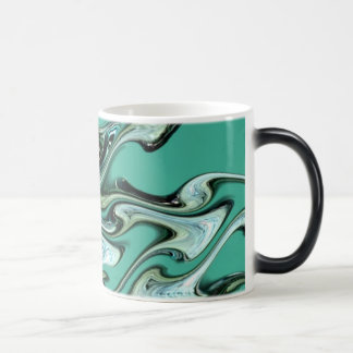 Aqua waves! magic mug