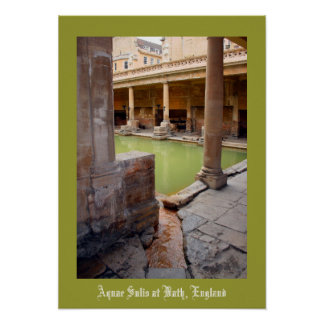 Aquae Sulis at Bath England Poster