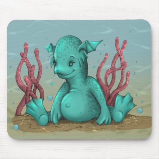 AQUALION CUTE ALIEN CARTOON MOUSE PAD