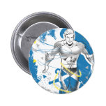Aquaman - Absurd Collage Poster Button