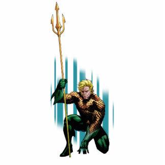 Aquaman Crouching Acrylic Cut Out