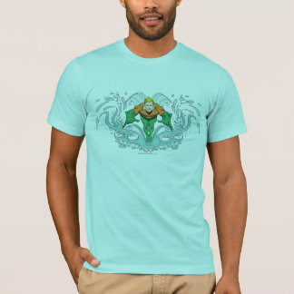 Aquaman Lunging Forward T-Shirt