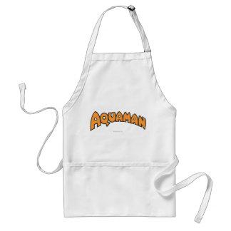 Aquaman Orange Logo Aprons