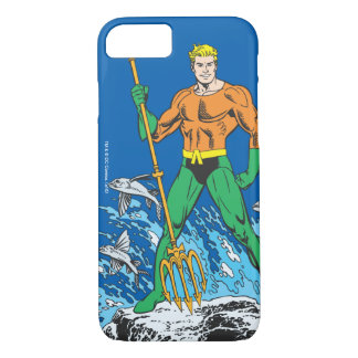 Aquaman Stands with Pitchfork iPhone 7 Case