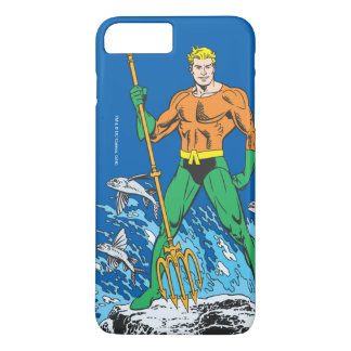 Aquaman Stands with Pitchfork iPhone 8 Plus/7 Plus Case