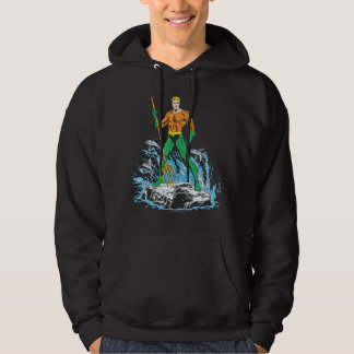 Aquaman Stands with Pitchfork Pullover