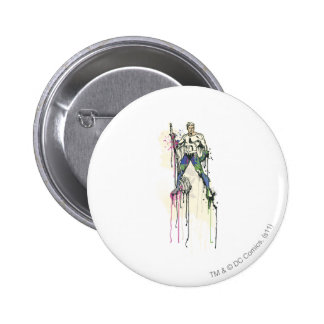 Aquaman - Twisted Innocence Poster 6 Cm Round Badge