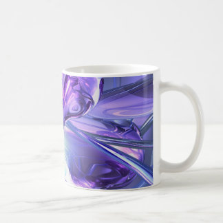 Aquamarine Abstract Mug