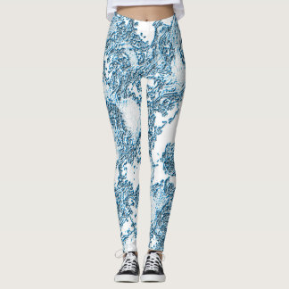 Aquamarine Angelic Leggings