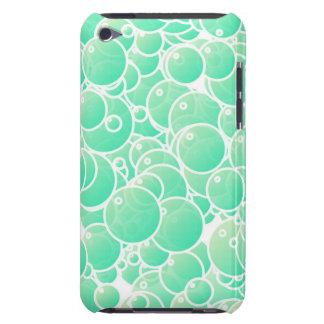 Aquamarine bubbles Case-Mate iPod touch case