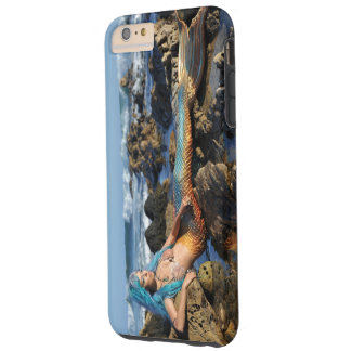 AquaMarine Mermaid by the Sea Tough iPhone 6 Plus Case
