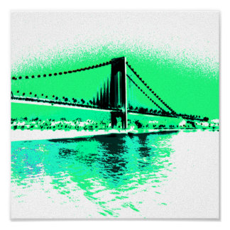 Aquamarine Narrows print