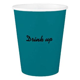 AquaMarine paper cup
