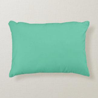 Aquamarine Solid Colour Decorative Cushion