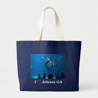 Aquarium Magic Large Tote Bag