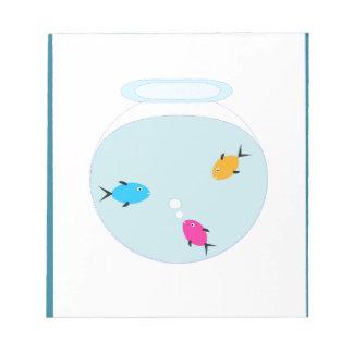 aquarium notepad