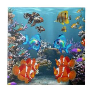 Aquarium Style Ceramic Tile