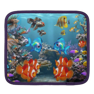 Aquarium Style Sleeves For iPads