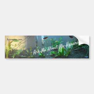 Aquariums Fish Keeping Bumper Sticker