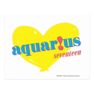 Aquarius 3 postcard