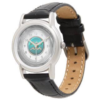 Aquarius Astrological Symbol Watch