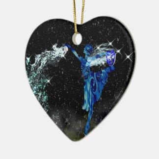 Aquarius Astrology Ornament